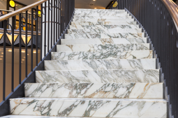 The Best Marble to use for Stairways
